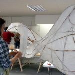 Lantern workshop - fish structure