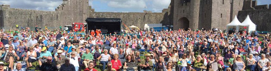 Pembroke Castle - Boys Aloud - Pembrokeshire