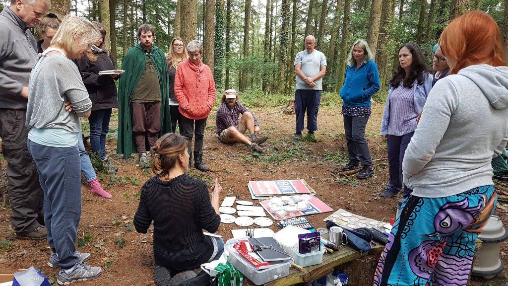 reconnect nature connection course - Pembrokeshire