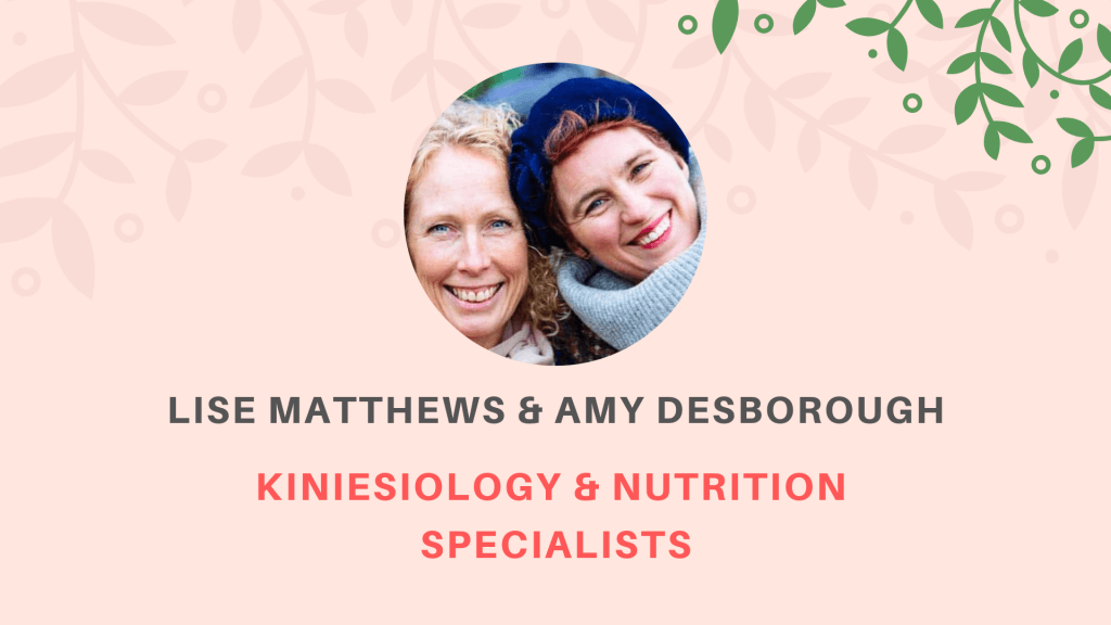 Lise Matthews - Amy Desborough - The Nutrition Detectives - Haverfordwest - Pembrokeshire