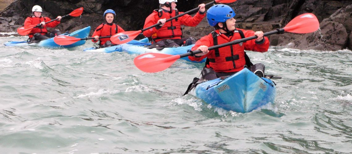 Kayaking in Pembrokeshire - The Real Adventure COmpany