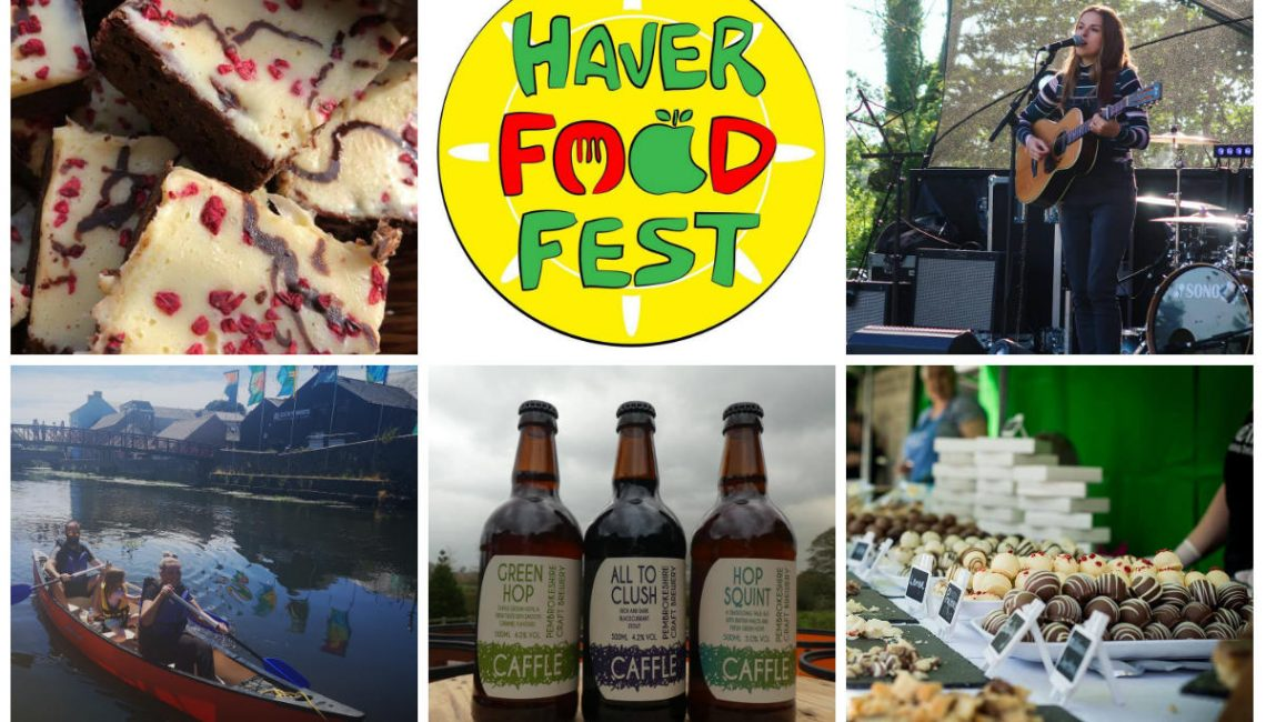Haverfoodfest food and drink fayre - haverfordwest - Pembrokeshire