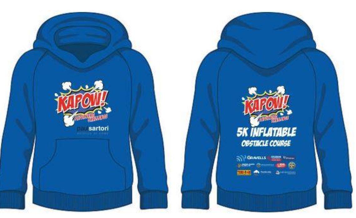 Kapow hoodie - Paul Sartori