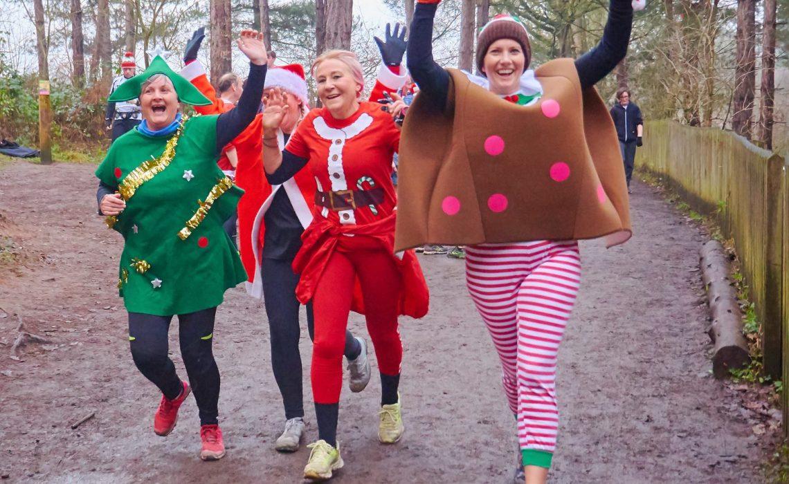Parkrun - Christmas runners