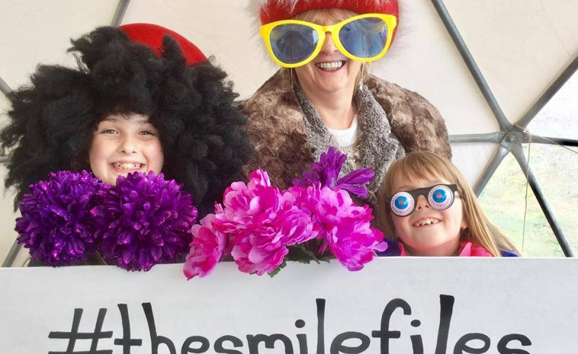 #thesmilefiles photo booth - The Hilton Happy Weekend