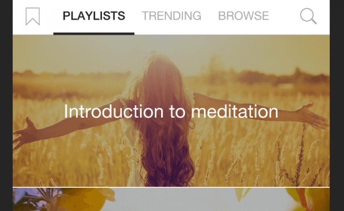 insight timer meditation app